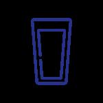 1. Beber apenas água e bebidas engarrafadas