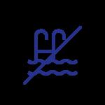 8. Evitar tomar banho em piscinas e outros locais que aparentem estar sujos