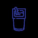 Iogurte natural, bebida de arroz ou de avelã